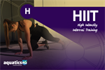 HIIT High Intensity Interval Training - builds cardiovascular fitness, improve strength, build lean muscle and maximise calorie burn.