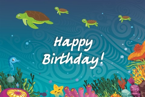 Happy Birthday from Aquatics Horowhenua.